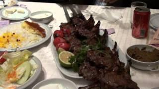 イラン・テヘラン2日目の夕食