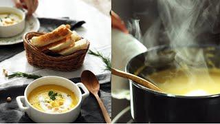 초간단 단호박 당근 수프로 아이들 아침 챙겨주세요. (…