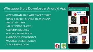 Whatsapp Story Dowloader Android App with Admob Integration | Codecanyon Scripts and Snippets
