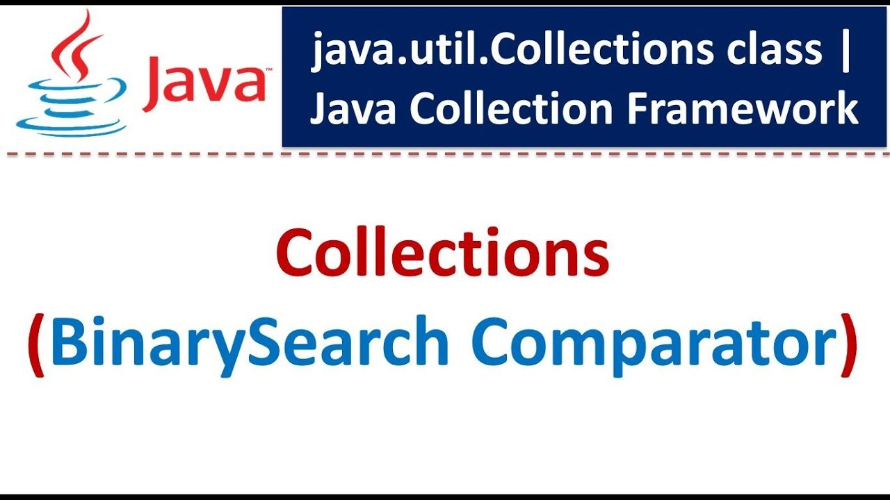 what is binary search in java