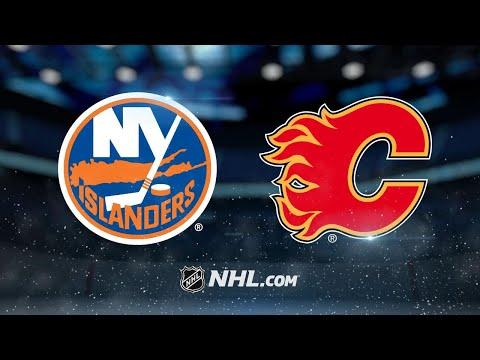 Islanders beat Flames to snap eight-game skid