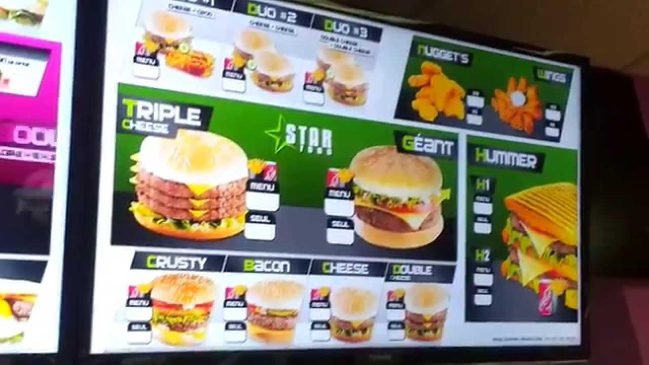 Fast Food Commande