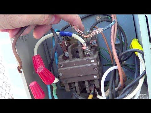 1 phase contactor wiring diagram hvac burnt wire and lug on 3    phase    1985 ac carrier round  hvac burnt wire and lug on 3    phase    1985 ac carrier round