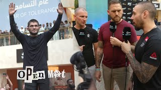 Khabib and Poirier fight week initial impressions | UFC 242 Open Mat preview, episode one