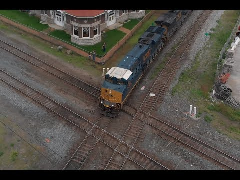 Trains Around Ohio Shave And A Haircut At Marion Station Video