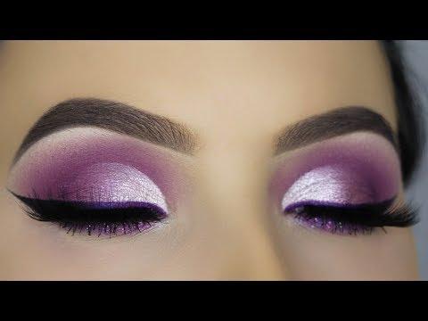 purple-glam-cut-crease-makeup-tutorial!