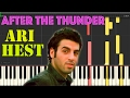 Ari Hest After The Thunder Piano Tutorial Synthesia mp3