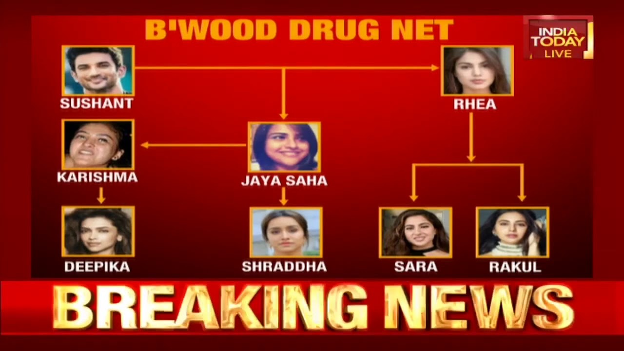 Download Bollywood Drug Net: A Look At How The List Of Actors Emerged In Drug Chats