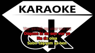 Tarkan - Yolla KARAOKE  ( Cihan Koraltan ) Video