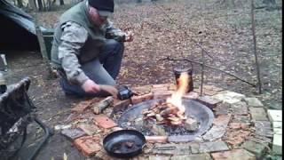 Bush Craft Tip: Air Mattress Pump as a Fire Blower