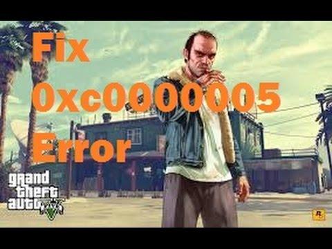 0xc0000005 ошибка при запуске игры