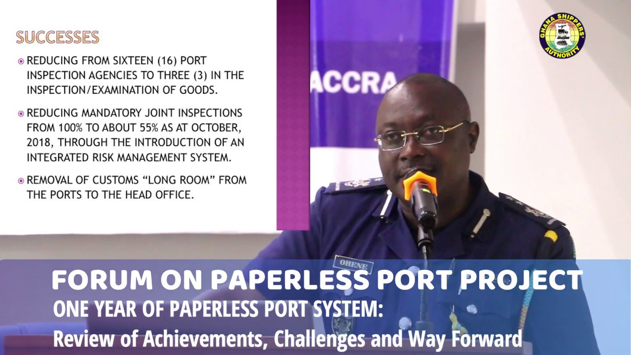 PERSPECTIVE OF THE PORT – GRA CUSTOMS DIVISION
