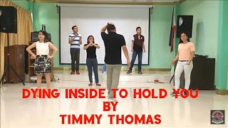 DYING INSIDE TO HOLD YOU by TIMMY THOMAS DANCE FITNESS CHOREOGRAPHY