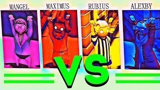 PEPA VS LA FAMILIA - GANG BEASTS (Mangel vs Maximus vs Rubius vs Alexby)