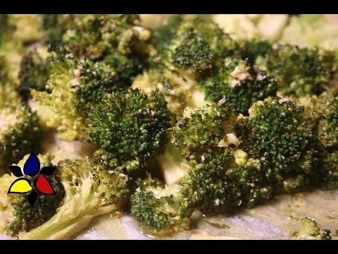 Roasted Broccoli with Parmesan and Lemon Keto Meals