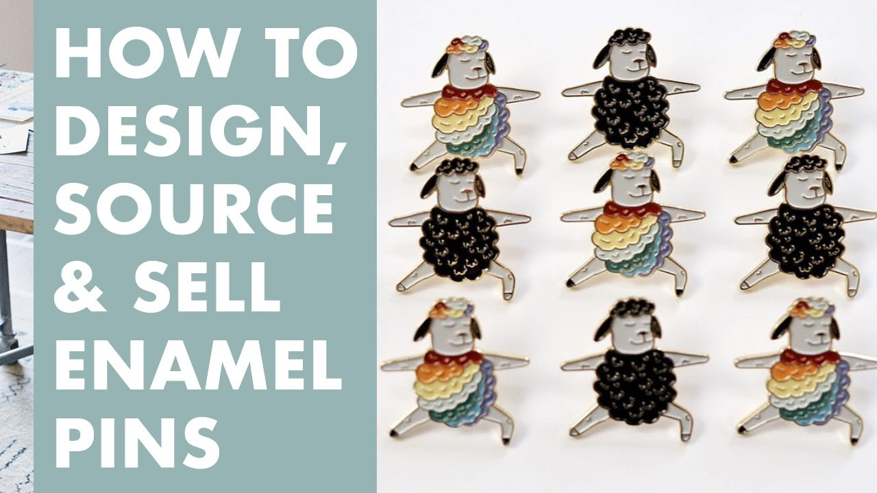 Amazing How To Design, Source, And Sell Your Own Enamel Pins