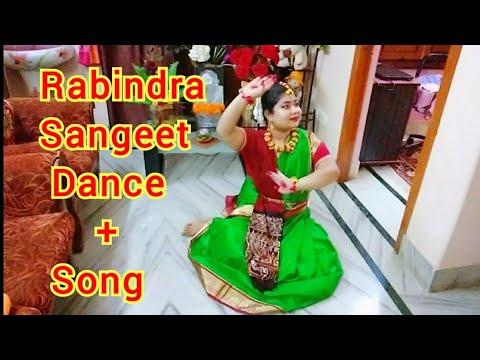 একসাথে Simran's 💃Dance & Song🔥 Performance of Rabindra Nritya & Sangeet | Rabindra Jayanti