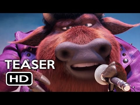 Sing Official Teaser Trailer (2016) Matthew McConaughey, Scarlett Johansson Animated Movie HD