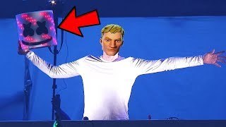 Marshmello skin face reveal | Fortnite Battle Royale