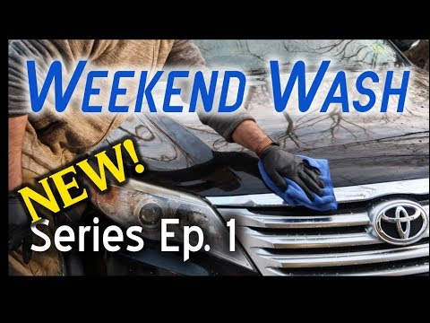 Weekend Wash Series #1 // Interior And Exterior Cleaning //Toyota Avalon
