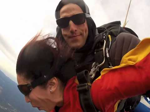 patricia's skydive.. my 50th gift to myself!