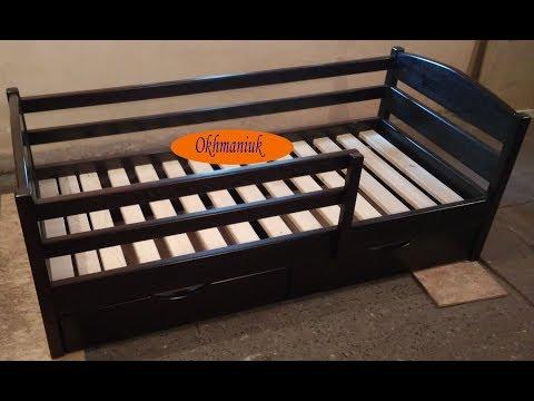 Как сделать детскую кровать. How to make a bed for children