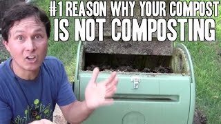#1 Reason Why Your Compost is Not Composting