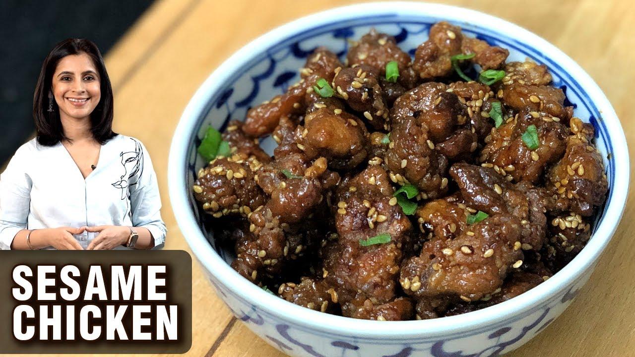 Sesame Chicken Recipe  | How To Make Sesame Chicken Fry | Chicken Snack Recipe By Tarika Singh