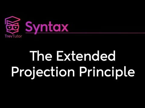 [Syntax] Expletives and Extended Projection Principle (EPP)