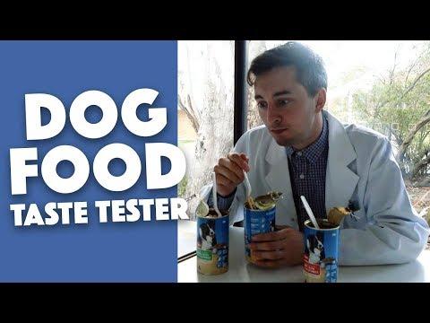 Dog Food Taste Tester