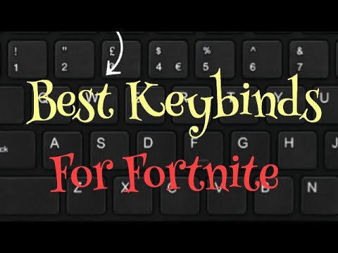 Best Keybinds In Fortnite Youtube