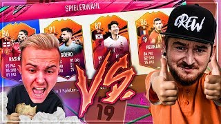 Gamerbrother RASTET Komplett im FUT HEADLINERS Pack Builder BATTLE aus 🔥 | FIFA 19