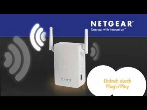Netgear Wn3000rp Wlan Wireless Universal Repeater Range Extender