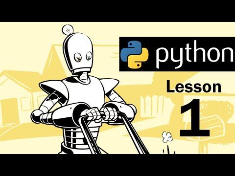 Lesson 1 - Python Programming (Automate the Boring Stuff wit