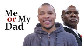 'ME OR MY DAD?' Chris Eubank Jr plays the new 'Mr and Mrs'