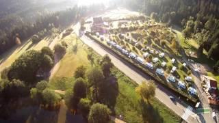 Vidéo du Camping du lac de Longemer avec un drone
