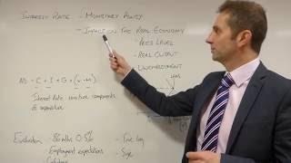 OCR GCE Economics - Potential Essay - Monetary Policy