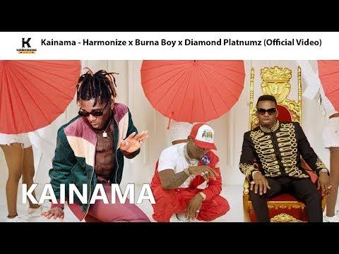 Kainama - Harmonize x Burna Boy x Diamond Platnumz (Official Video)