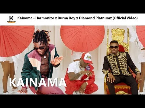 kainama---harmonize-x-burna-boy-x-diamond-platnumz-(official-video)
