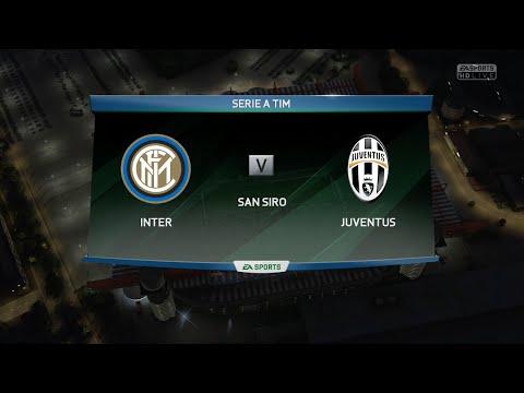 FIFA 16 - Inter Milan vs. Juventus @ San Siro / Stadio Giuseppe Meazza