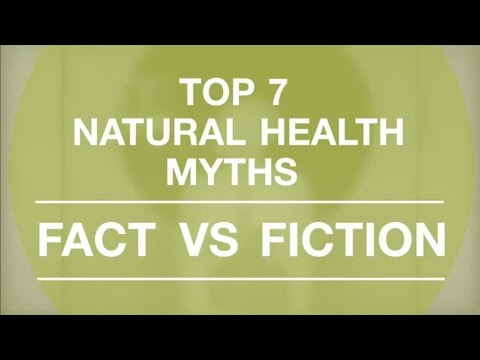 Myths and Misconceptions About Natural Health Products