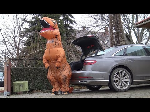 Ezt tudja az Audi A8-as, ha a kényelemről van szó