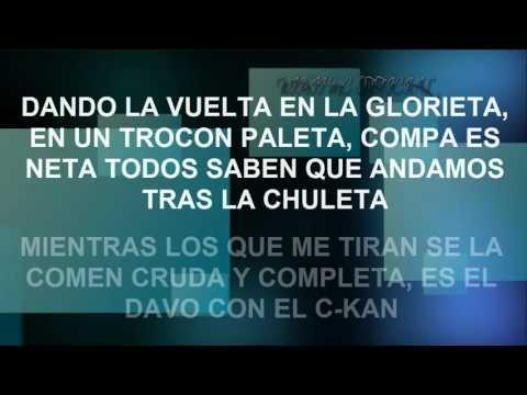 MC DAVO FT C-KAN  ROUND 1 ( LETRA ) Official