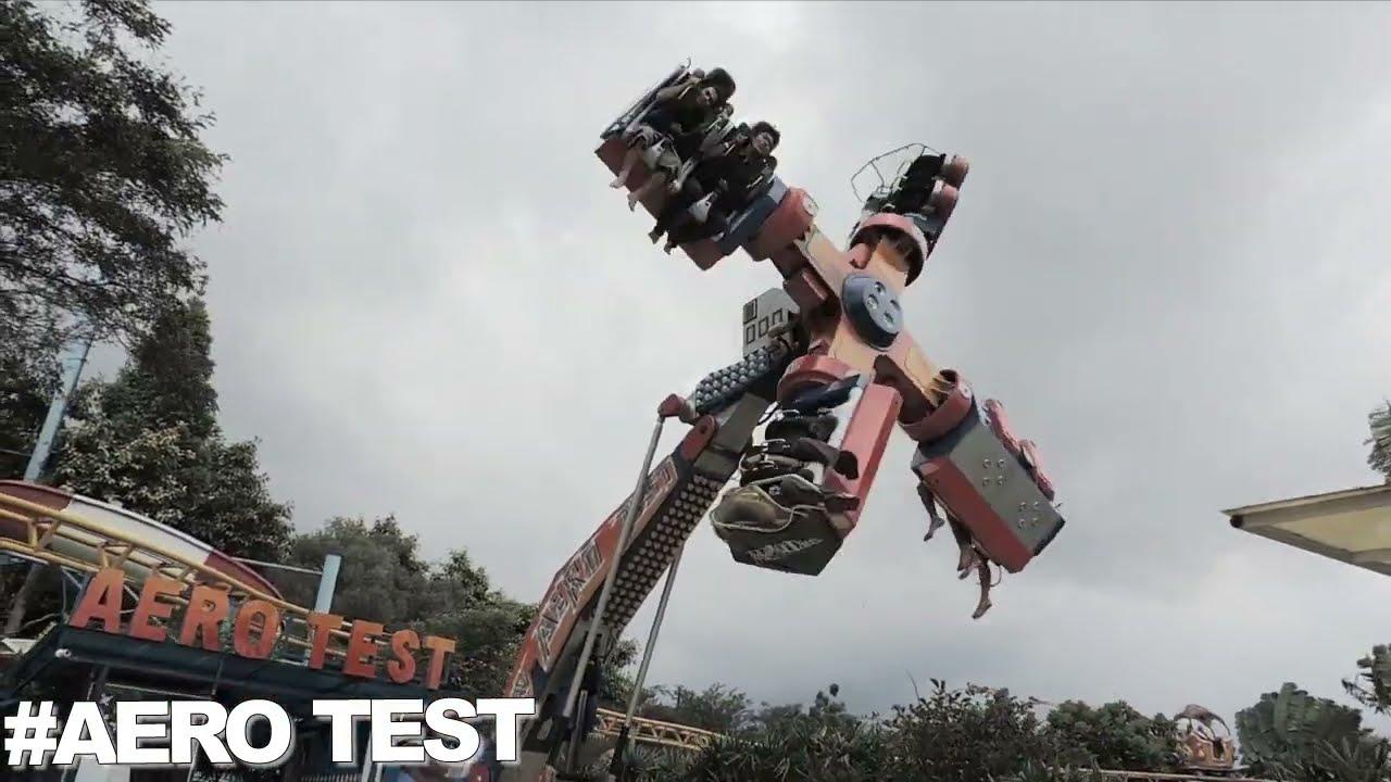 Aero Test Wahana Permainan Jatimpark 2 Jawa Timur Youtube