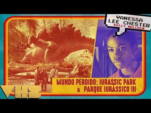 Review - Lost World: Jurassic Park (Vanessa Chester interview) & Jurassic Park III // VHS
