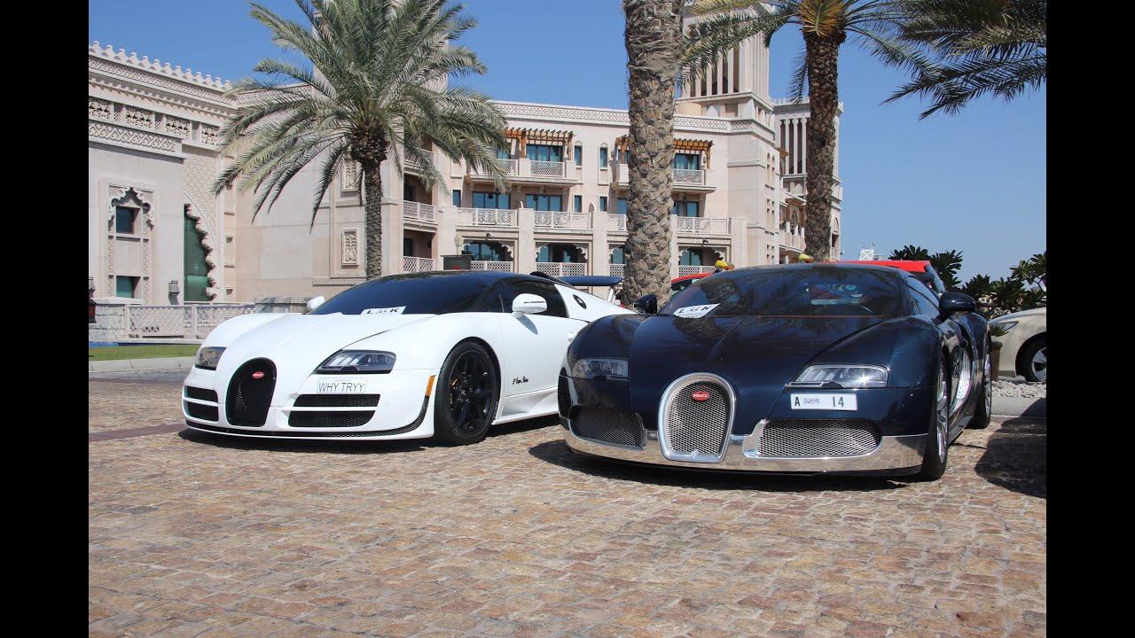 Supercars In Dubai February Incl Laferrari Zonda Sv