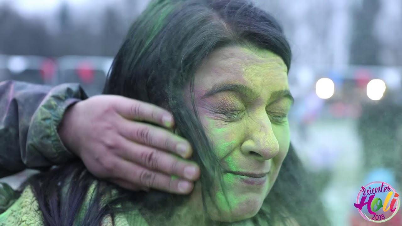 Leicester Holi 2018 Video