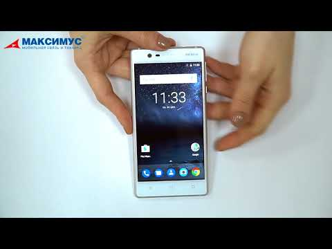 Обзор смартфона Nokia 3 Dual SIM Silver White