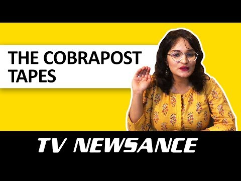 TV Newsance Episode 19: The Cobrapost Tapes