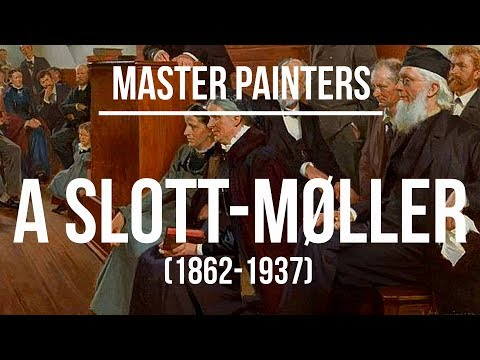 Agnes Slott-Møller(1862-1937) A collection of paintings 4K Ultra HD.mp4